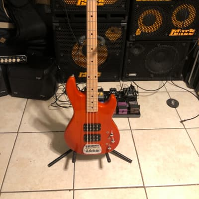 G&L Tribute Series L-2000 with Maple Fretboard Clear Orange for sale