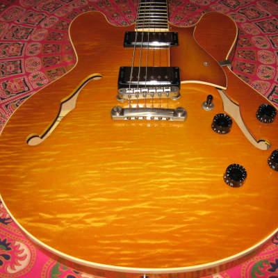 Heritage H-535 2001 Vintage Sunburst Flame Maple for sale