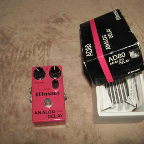 Maxon AD-80 Analog Delay Pink for sale