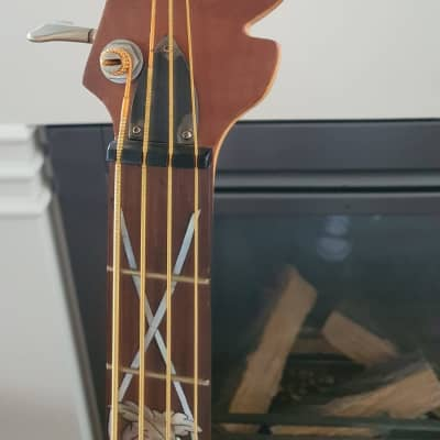 Eagle Warlord Bass - Birds eye Walnut top - Unique! for sale