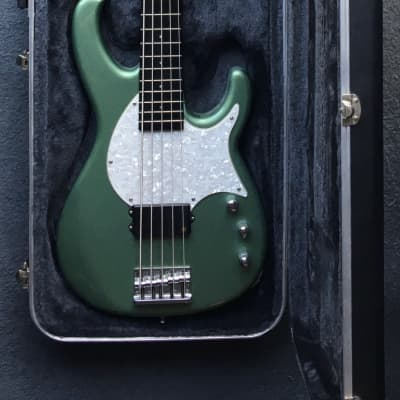 Modulus Bass Flea/FB/Funk Unlimited 5 String 1998 Metallic Green for sale