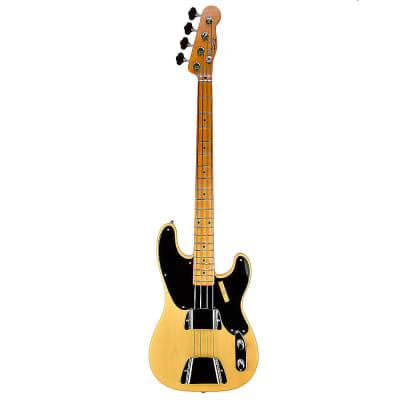 Fender Custom Shop Vintage Custom 1951 P-Bass® NOS, Nocaster Blonde - 9.4 pounds  - XN3375 for sale