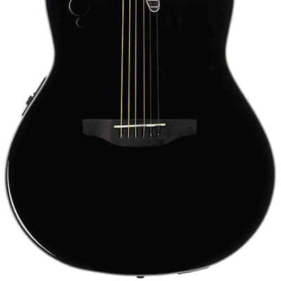 Applause by Ovation Elite AE44II-5 Acoustic-Electric Guitar - Black for sale