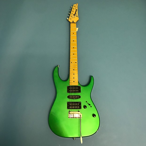 Ibanez Rx170 Green Electric Guitar Reverb