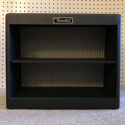 Fender Amp Display Promo Cabinet / Shelf Black Tolex w/ Tilt-Back Legs c. 2000s