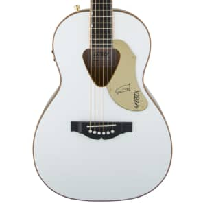 Gretsch G5021WPE Rancher Penguin Parlor Acoustic/Electric Guitar w/ Fishman Pickup System White 2017