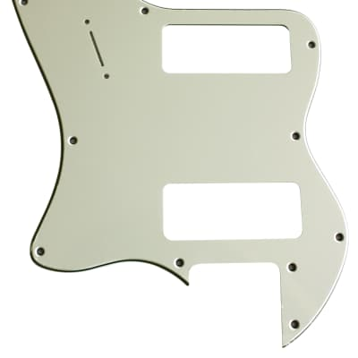 For Fender 3-Ply '72 Telecaster Thinline P90 Guitar Pickguard Scratch Plate, Mint Green