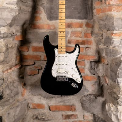 Fender American Fat Strat Texas Special HSS Black 2001 Used for sale
