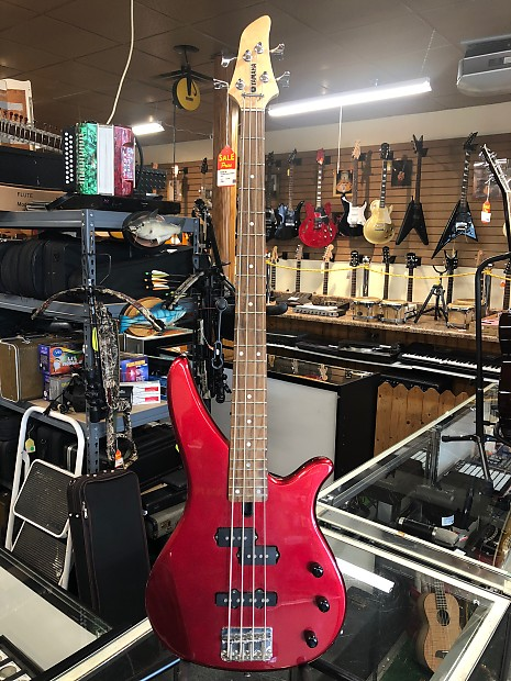 Yamaha RBX 170 2000'S Candy apple red | Reverb