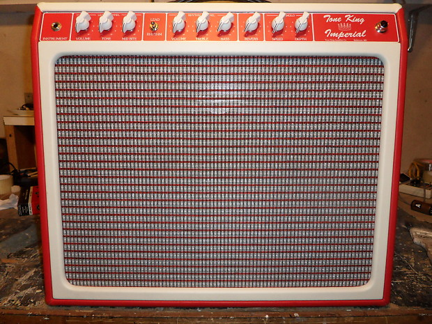 Tone King Imperial : tone king imperial 2005 red white with upgrades reverb ~ Hamham.info Haus und Dekorationen