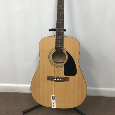 Fender FA-100 Spruce/Basswood Dreadnought Natural Acoustic Guitar