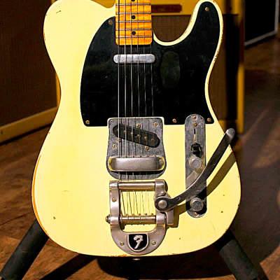 Fender Telecaster Custom Shop Yuriy Shiskov Vintage  White for sale