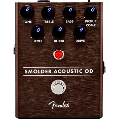 Fender Smolder Acoustic Overdrive Guitar Effect Pedal for sale