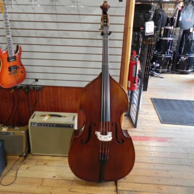 Eastman VB95 1/2 Size Upright Bass Outfit