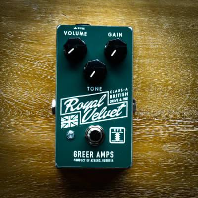 Greer Amps Royal Velvet GREEN