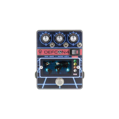 Walrus Audio Defcon4 Preamp Guitar Effect Pedal