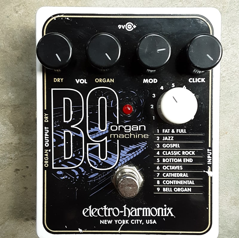 electro harmonix b9 organ machine kelso guitars reverb. Black Bedroom Furniture Sets. Home Design Ideas