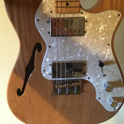 Fender Classic Series Fender Telecaster Thinline '72 Reissue (w/Flightcase) for sale