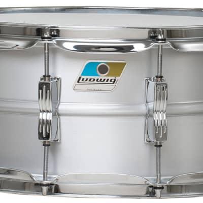 "Ludwig LM405C 6.5"" x 14"" Classic Acrolite Snare Drum"