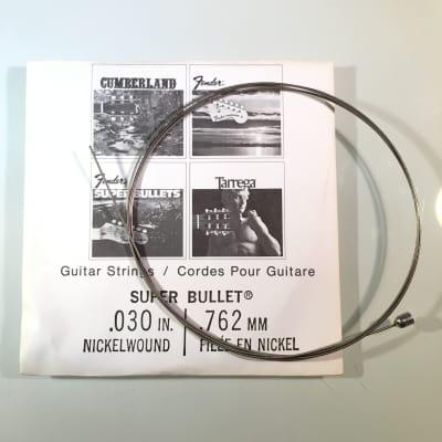 """Fender REAL Vintage 70's Super Bullet String 0.030"""" Nickel Wound"""