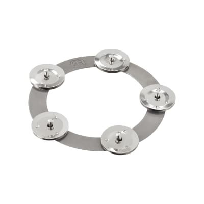 Meinl Percussion CRING 6-Inch Ching Ring Tambourine Jingle Effect for Cymbals, Steel (VIDEO)