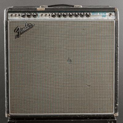 "Fender Super Reverb ""Drip Edge"" 2-Channel 40-Watt 4x10"" Guitar Combo 1968 - 1969"
