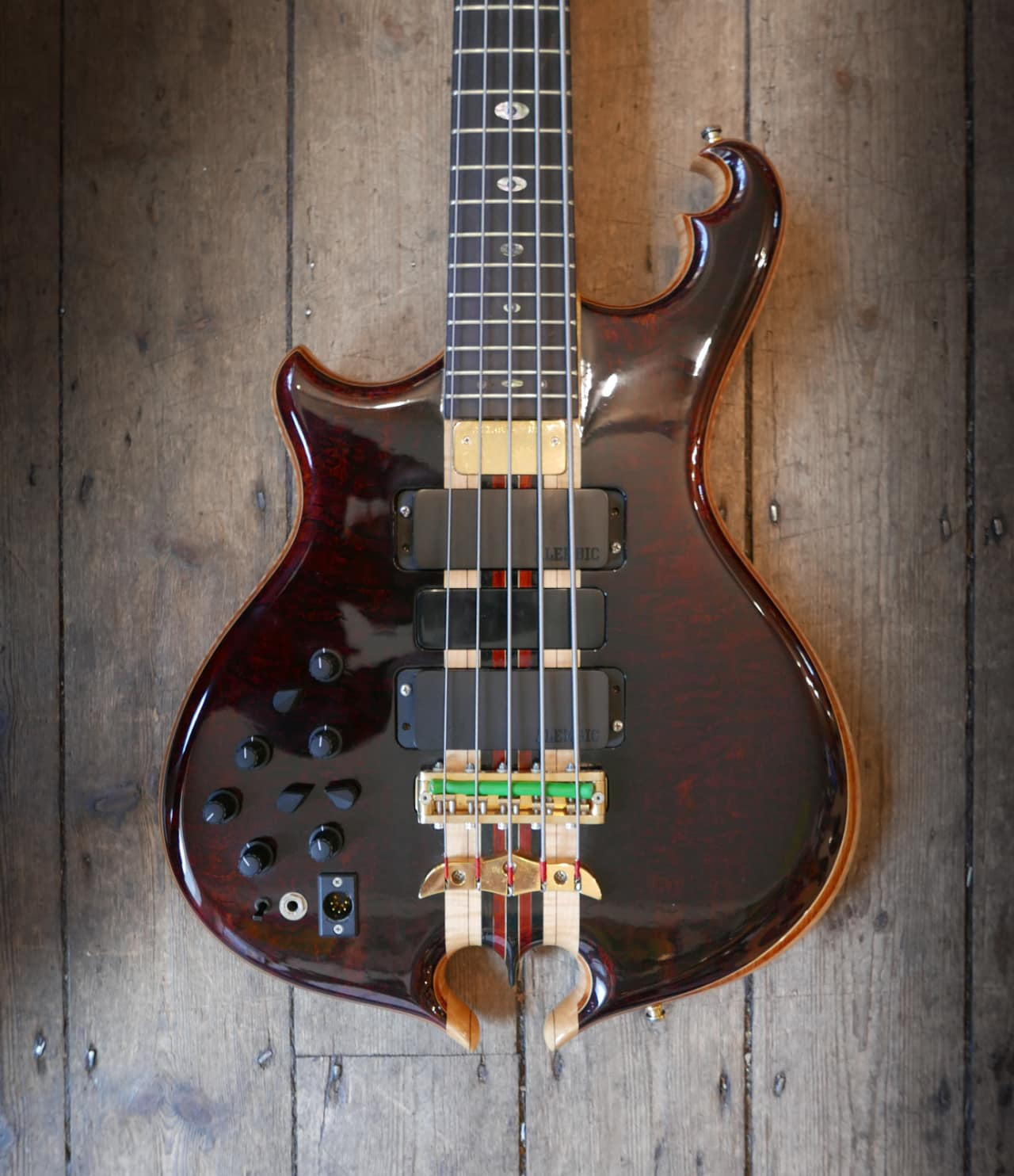 alembic omega cut 5 string bass 1990 39 s natural reverb. Black Bedroom Furniture Sets. Home Design Ideas