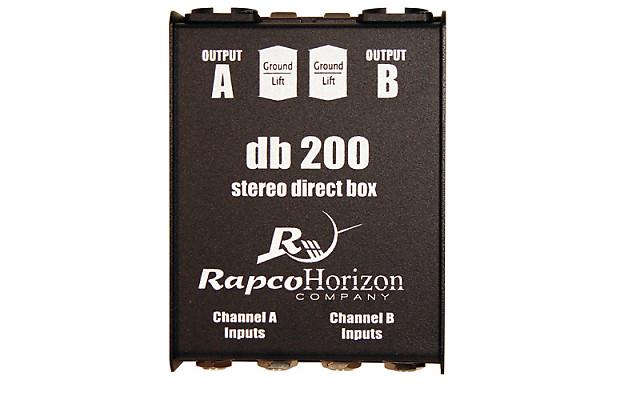 Rapco DB 200 Passive Stereo Direct Box