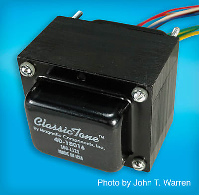 ClassicTone 40-18016 Power Transformer | 20W, Fender Style Amps | Made in  USA | Free Ship