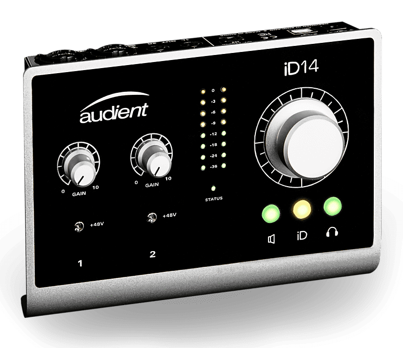 audient id14 10in 4out high performance usb audio interface reverb. Black Bedroom Furniture Sets. Home Design Ideas