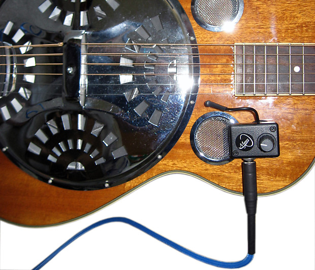 the grip resonator guitar pickup with flexible reverb. Black Bedroom Furniture Sets. Home Design Ideas