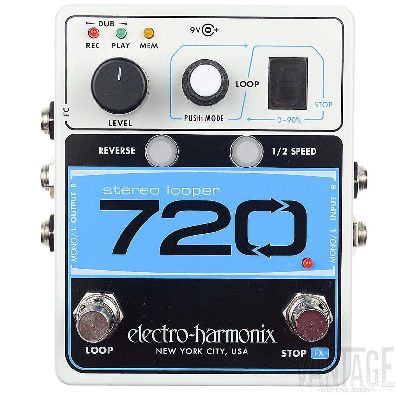 electro harmonix ehx stereo looper 720 guitar effect pedal reverb. Black Bedroom Furniture Sets. Home Design Ideas