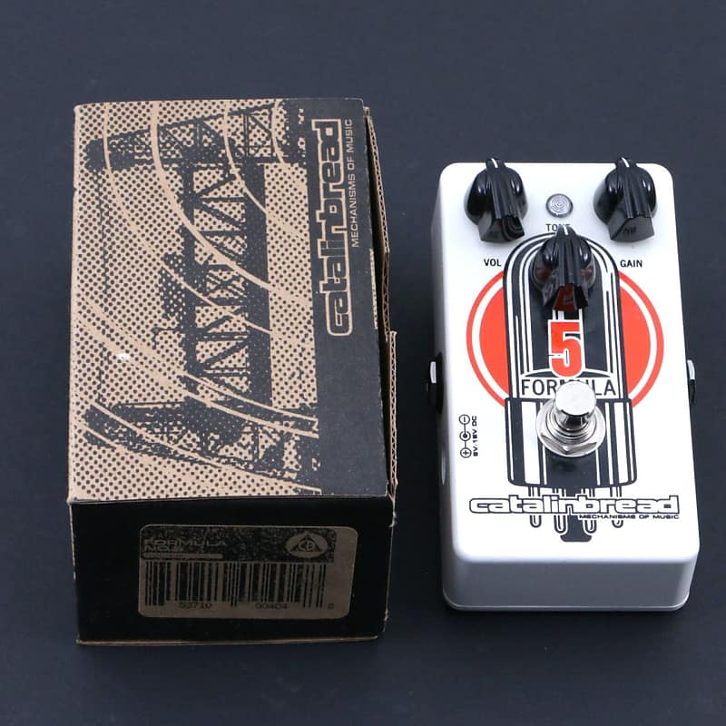 Catalinbread Formula 5 Overdrive Guitar Effects Pedal P-06997 image