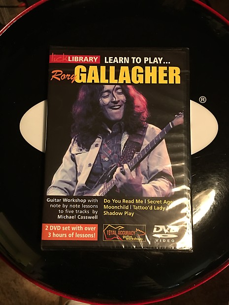 Lick LIBRARY Learn To Play - RORY GALLAGHER - Brand New