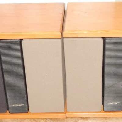 Bose 301II Speakers With Custom Wood Trim