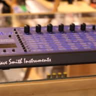 Dave Smith Evolver 2000s Blue/Black with OG Supply