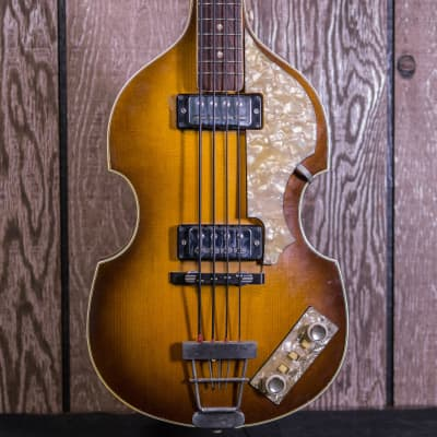 Hofner 500/1 Violin Bass c.1964-65 Sunburst