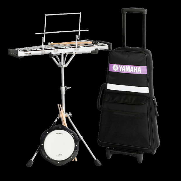 Yamaha spk 275r student bell kit with rolling cart reverb for Yamaha student bell kit with backpack and rolling cart