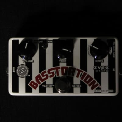 Used ZVEX Vexter Basstortion Bass Distortion Pedal 030821