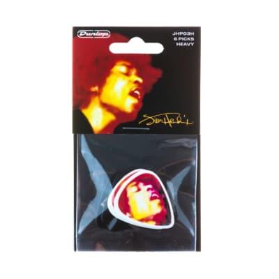 Dunlop JHP03H Jimi Hendrix Electric Ladyland Heavy Guitar Picks (6-Pack)