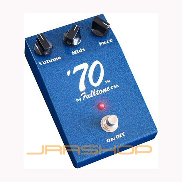 fulltone 39 70 fuzz pedal used jrr shop reverb. Black Bedroom Furniture Sets. Home Design Ideas
