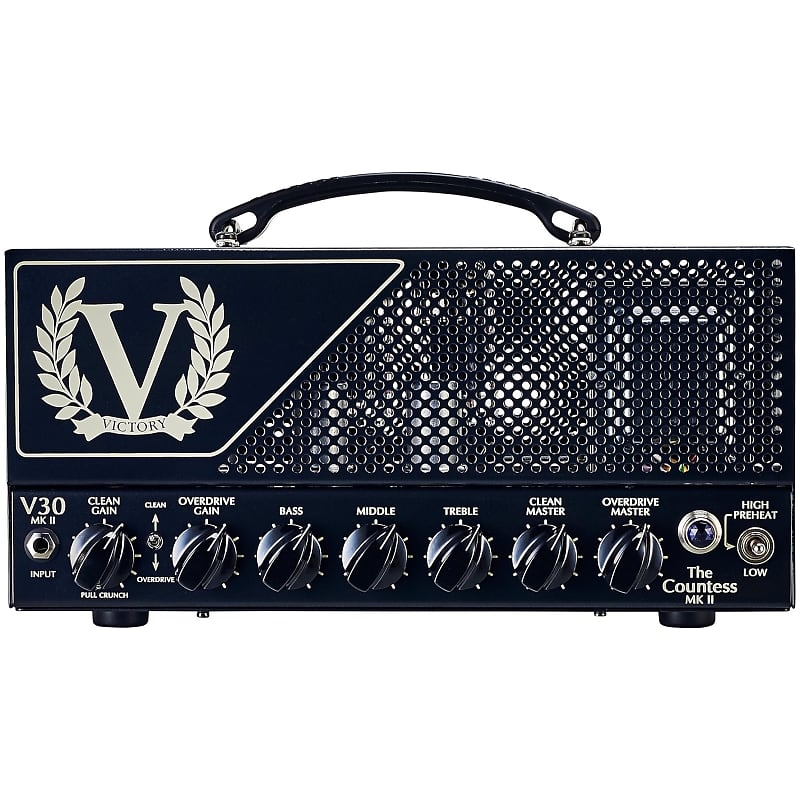 victory v30 the countess mkii guitar amplifier head 40 reverb. Black Bedroom Furniture Sets. Home Design Ideas
