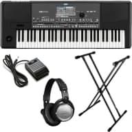Korg Pa600 Professional Arranger Keyboard BONUS PAK