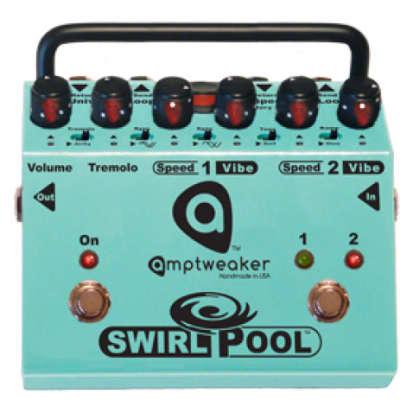 Amptweaker SwirlPool - 2-Speed Tremolo & Vibe for sale