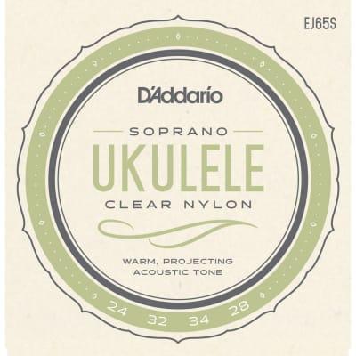 D'Addario EJ65S Ukulele Soprano