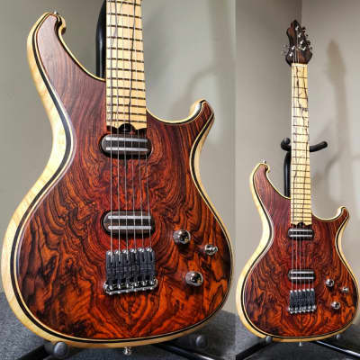 Barlow Guitars  Falcon II 2018 Cocobolo / Pale Moon Ebony for sale