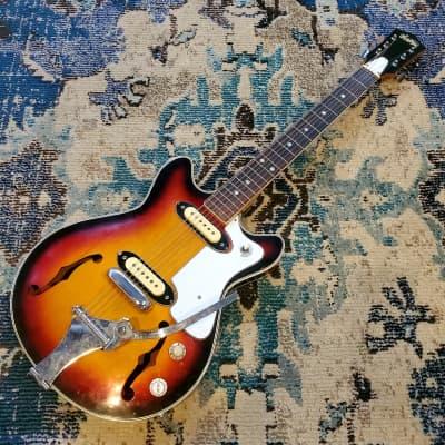 1967 Norma - Teisco Kawai-made Hollowbody Guitar w/ Trem for sale