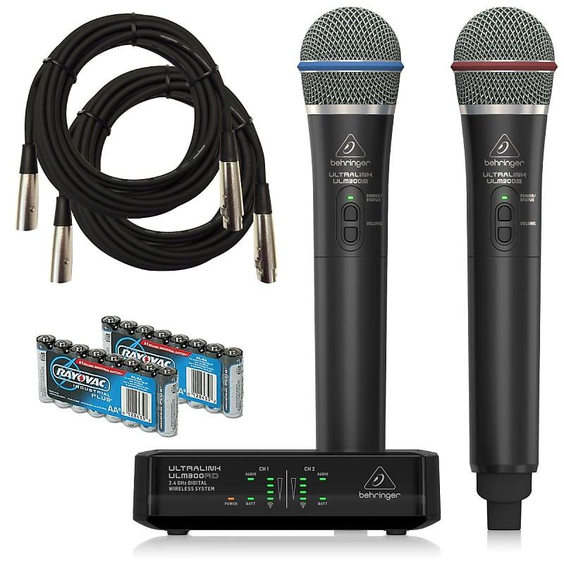 behringer ulm302mic digital wireless microphone system bonus reverb. Black Bedroom Furniture Sets. Home Design Ideas