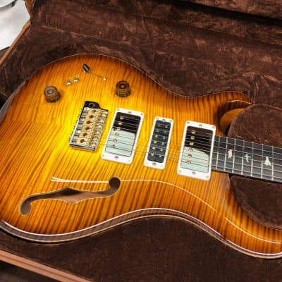 PRS Paul Reed Smith Private Stock Special 22 semi-hollow 2019 McCarty Glow left handed