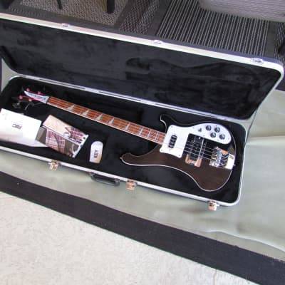 2008 Rickenbacker 4003 Bass Jet Glo Super Clean W/OHC Rickenbacker 4003 Bass Plays Great! for sale